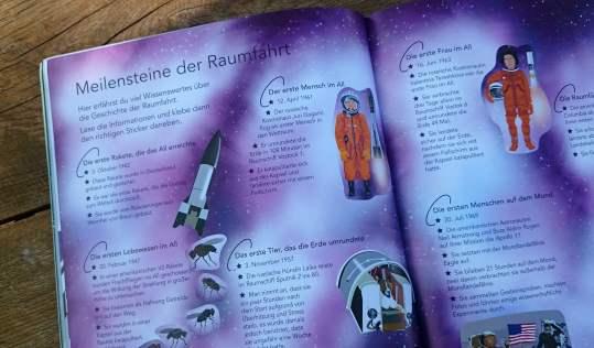 StickerbuchRaumfahrt